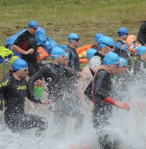 Zimno, mokro… rewelacyjnie – kilka słów o Triathlon Lubasz