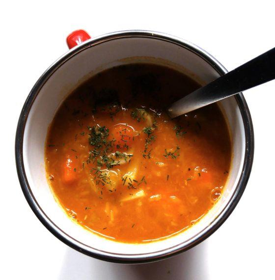 Alarmowa zupa soczewicowa